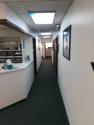 Chiropractic East Columbus OH Hallway