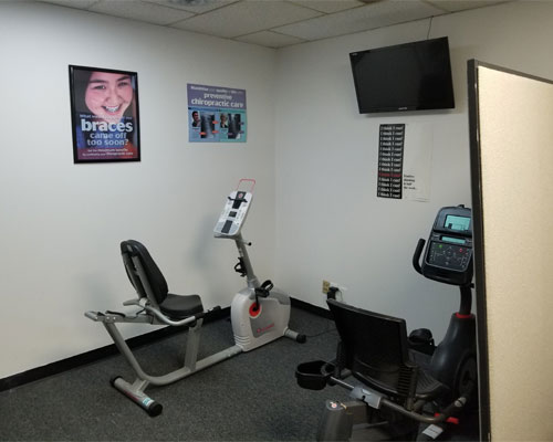 Chiropractic North Columbus OH Exercise Bike