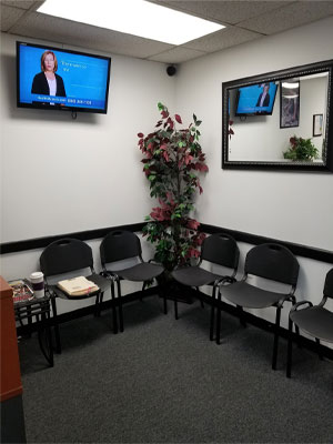 Chiropractic North Columbus OH Waiting Room