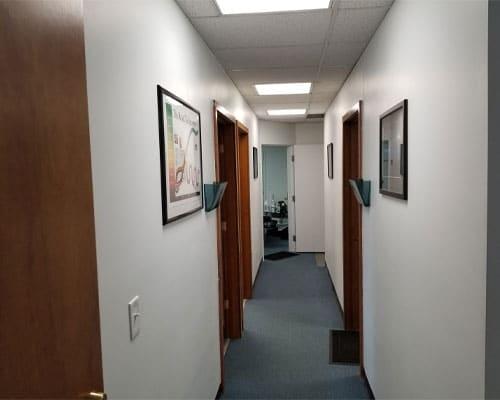 Chiropractic West Columbus OH Hallway