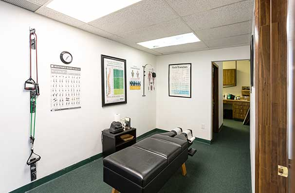Chiropractic East Columbus OH Adjustment Room
