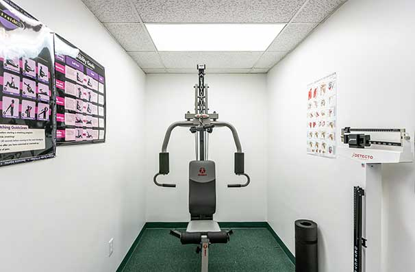 Chiropractic East Columbus OH Exercise Room