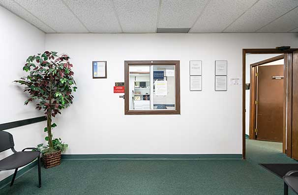 Chiropractic East Columbus OH Reception
