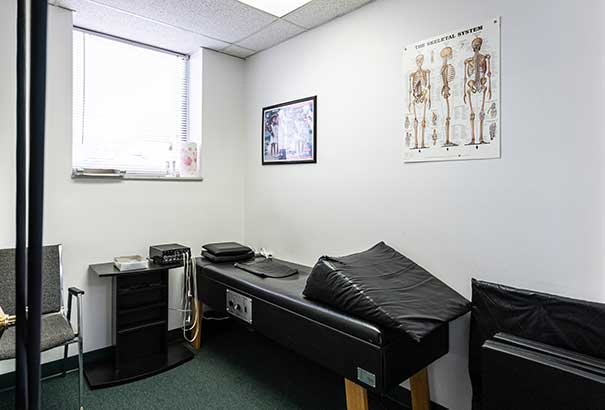 Chiropractic East Columbus OH Therapy Room