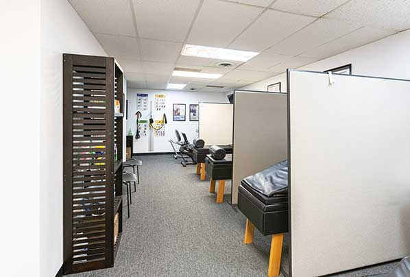 Chiropractic North Columbus OH Adjustment Area