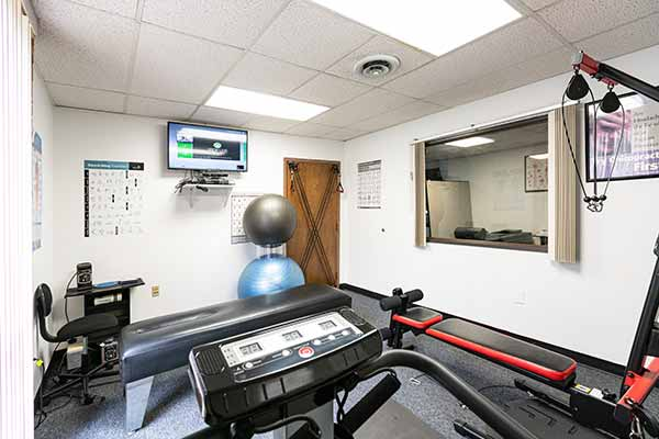 Chiropractic North Columbus OH Exercise Room