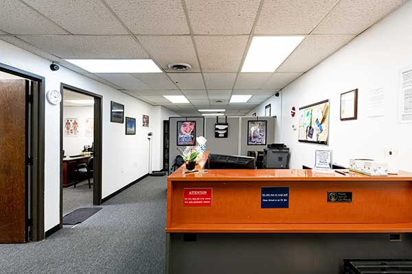 Chiropractic North Columbus OH Front Desk