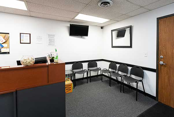 Chiropractic North Columbus OH Lobby Area