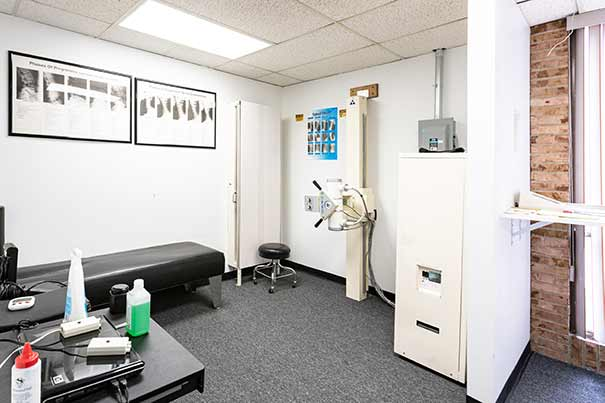 Chiropractic North Columbus OH X-Ray Room