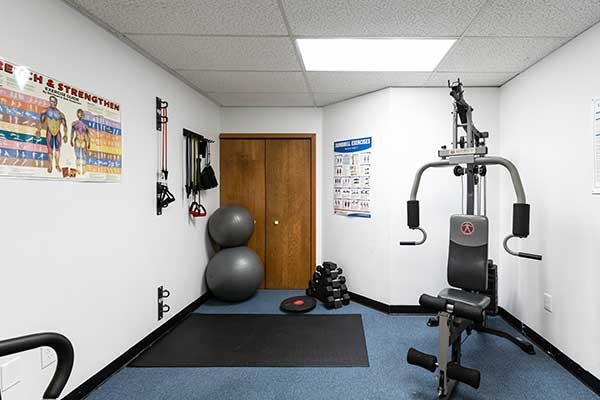 Chiropractic West Columbus OH Exercise Room