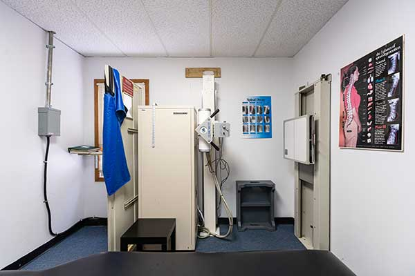 Chiropractic West Columbus OH X-Ray Room