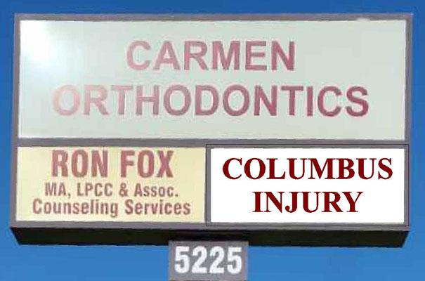 Chiropractic Columbus OH Signage